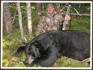 Dan Wallace and his monster Ontario black bear
