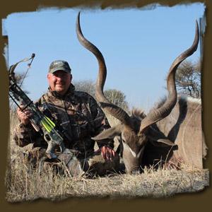 Dan Wallace Koringkoppie Outfitters Kudu Bull