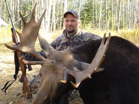 Karl's First Bull Moose