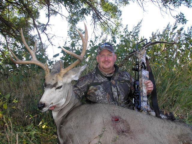 Dan Wallace - Mule Deer, Mill Iron TJ Outfitters, Wyoming