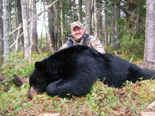 Paul Payne - Newfoundland Adventures Black Bear