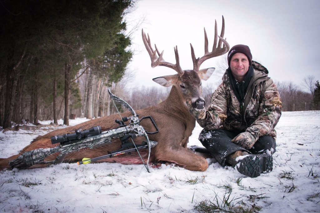 Jacques Combrinck from Koringkoppie Safaris took this giant Ohio buck with the Backwoods Boys
