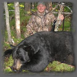 Dan Wallace and his 550 Pound Ontario Black Bear