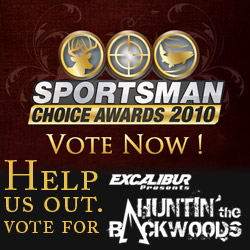 Vote for Excalibur's Huntin' the Backwoods