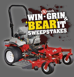 Exmark's Win, Grin and Bear It Sweepstakes Ends Soon!